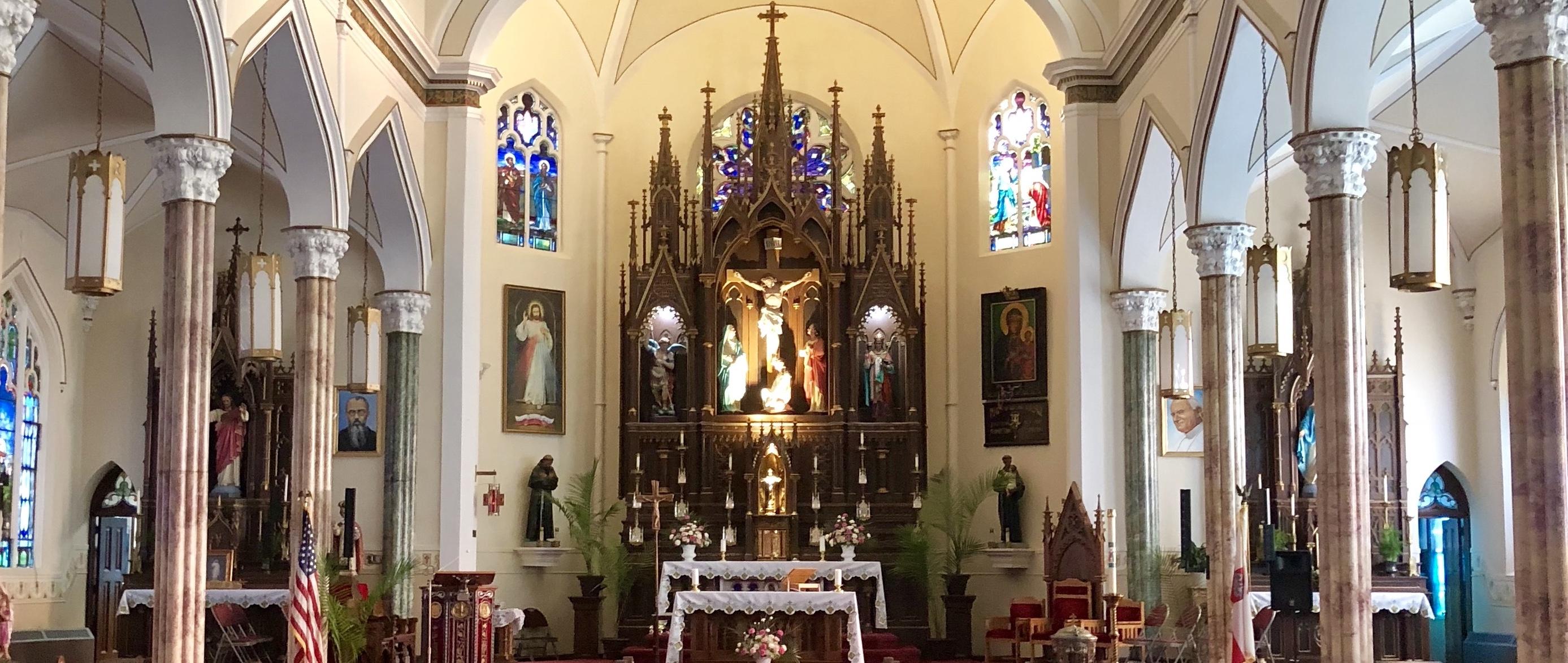 Parafia św. Michała Archanioła w Bridgeport, CT
